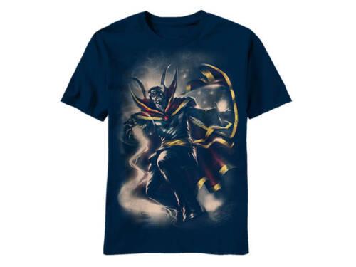Marvel Doctor Doom Doc Mythos Mens Navy T-Shirt