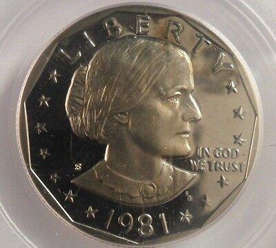 PCGS Anthony Dollar Type 2 PR69DCAM 1981-S Susan B