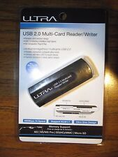 Brand *New Ultra USB 2.0 Multi-Card Reader/Writer U12-43865