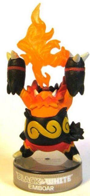 Pokemon GO Black White EMBOAR Bottle Cap Figure Toy Statuette Enbuoh BW Kaiyodo