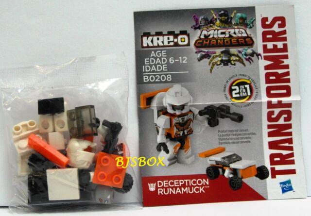 Kre-o Transformers Micro Changer Collection 2 Decepticon Runamuck B0208 New Toy