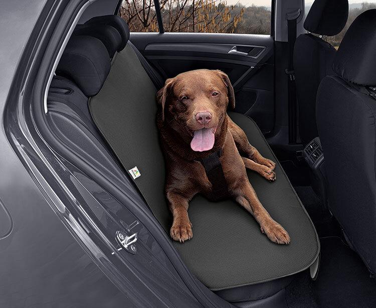 JEEP Compass JUNIORduo Rücksitz Doppel-Schutzmatte Hundetransport JUNIOR DUO
