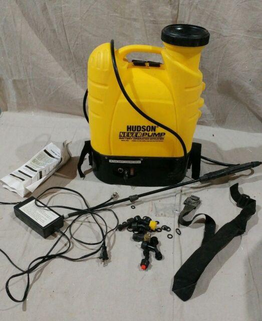 Battery Op Bak-Pak Sprayer NEVERPUMP 13854 4 Gal