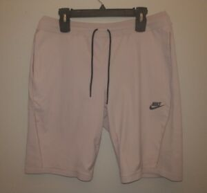 Details about Nike Sportswear Tech Knit Shorts Particle Rose Mens Size Large 886179 684 L New
