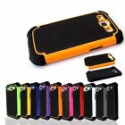 Dual Layer Combo Hybrid Hard Case Cover For Samsung Galaxy S3 i9300 SIII