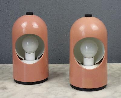 2 Nachttischlampe / Modell Selene / ITALY / lampe / lamp / luce / vintage /retro