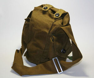 Soviet-Russian-Gp-5-Gas-Mask-Canvas-Bag-Military-Army-Indiana-Jones-new