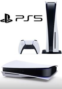 Sony PlayStation 5 consola de edición digital entrega al día siguiente PS5 Nuevo Sellado Digi