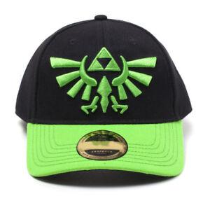1f7f8c4f079b5 Image is loading NINTENDO-Legend-of-Zelda-Green-Hyrule-Crest-Logo-