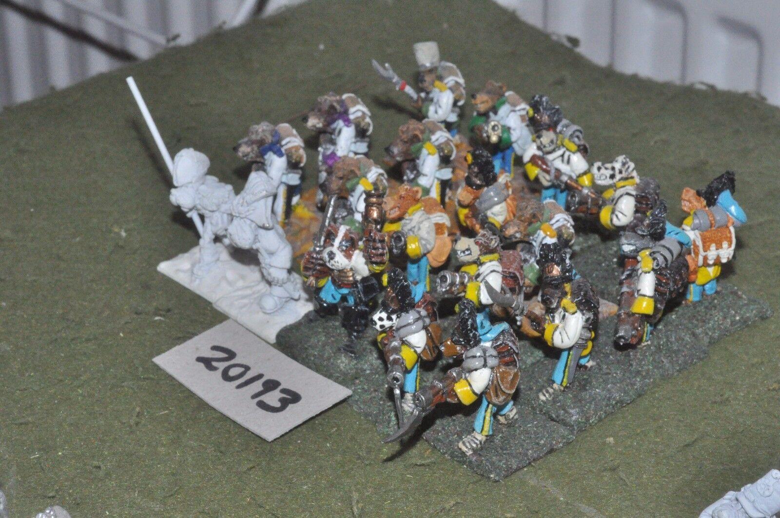 28mm flintloque fantasy Ostarian Grenadiers part painted 20 figures {16}(20193)