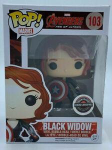 FUNKO POP! Marvel Avenger - Black Widow #103 - Gamestop Exclusive