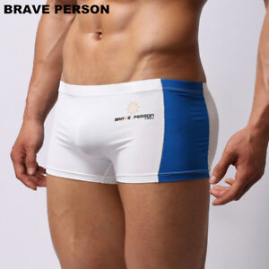 BRAVE-PERSON-Men-039-s-swimming-trunks-Boxer-Shorts-Underwear-size-S-M-L