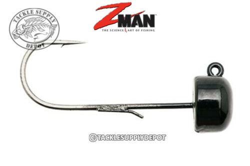 Pick Z-Man Finesse ShroomZ NED Jig Head Black 1//15oz 5pk