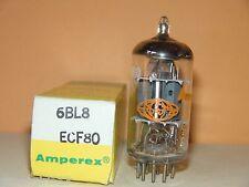 Amperex 6BL8 ECF80 France Orange Globe  Vacuum Tube   (4 Available)