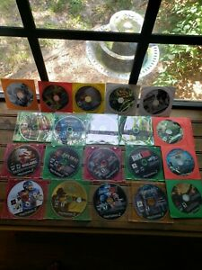 Lot-Of-SCRATCHED-Parts-Repair-video-games-PS2-Not-Tested-May-or-may-not-work