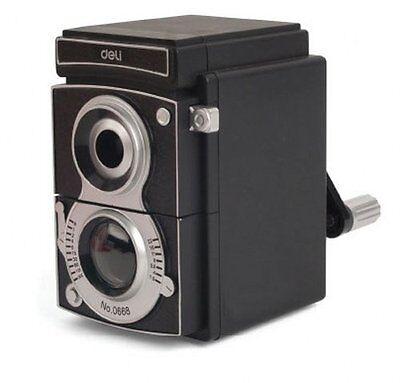 kikkerland Vintage Camera Shaped Plastic Pencil Sharpener SC12