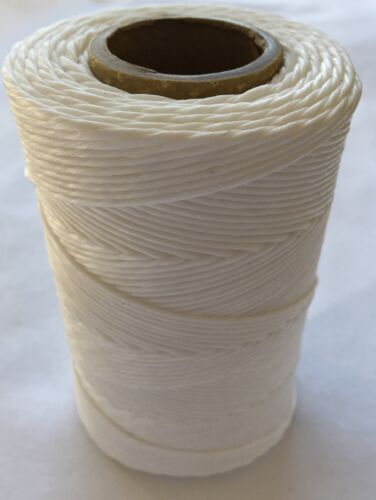 Waxed Lacing Cord 9 Ply 525/' Roll 8oz Cable Tie Down Waxed Twine
