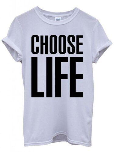 Homme Choisir la vie t shirt George Michael 80 s 90 s WHAM robe fantaisie Mulet Perruque