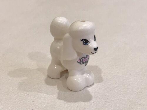 1x Lego White Poodle Dog Brand New