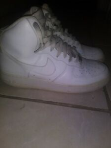 Details about Nike Air Force 1 High White Men's Size 10