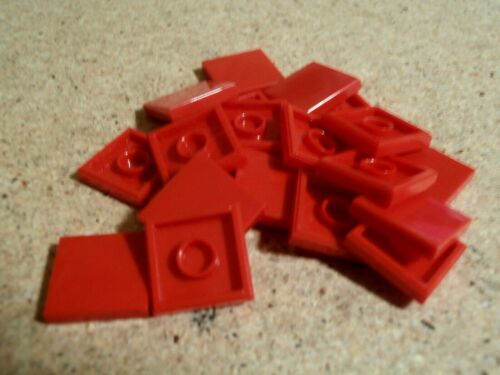 Lego City 20 x Red tile 2 x 2  NEW
