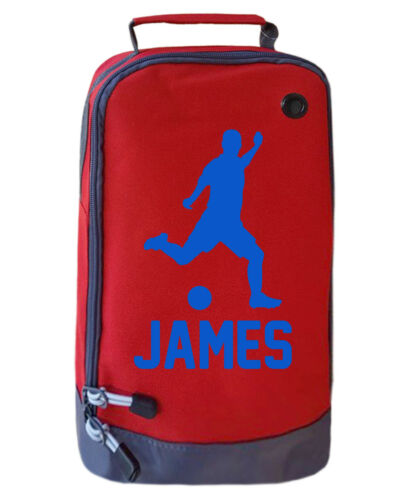 PERSONALISED CHILDRENS FOOTBALL BOOT BAG BOYS FOOTY KIDS SPORTS RUGBY PE KIT