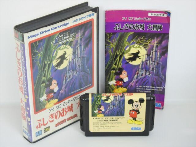 MICKEY MOUSE CASTLE OF ILLUSION Ref/1264 Mega Drive Sega md