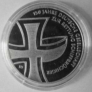 10 Euro Münze 2015 150 Jahre Deutsche Gesellschaft Zur Rettung