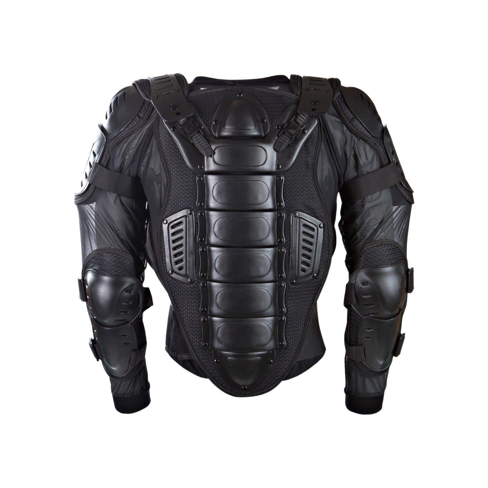 Adulto Unidad Predección CE Chaqueta de seguridad Moto Motocross Mx Enduro black