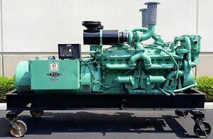 Detroit Diesel 16V71 Engine / Kato Open Frame Generator, 520kW/650KVA 60Hz