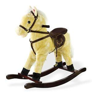 schaukelpferd galopper pferd mit sound ger usche neu 10637. Black Bedroom Furniture Sets. Home Design Ideas