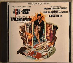 PAUL & LINDA McCARTNEY (feat. THE WINGS) Live and let die CD Sehr GUT erhalten!!