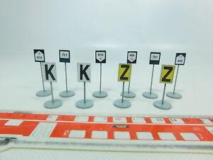 CréAtif Br264-0,5 #10x B Model (ets) Voie 0 Plaque - Schild : K + Z + 721 Etc, Très Bien