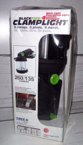 New Blackfire Clamplight Lantern Work//Emergency Light 260//135 Lumens