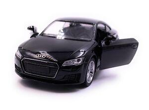Audi-TT-Compact-sportifs-Maquette-de-voiture-auto-noir-echelle-1-34-LGPL