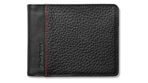 3141700800 Audi Sport Geldbörse Portemonnaie Minibörse Leder schwarz