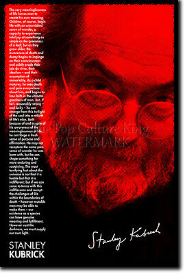 STANLEY KUBRICK ART PHOTO PRINT POSTER QUOTE