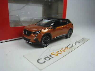 NO 310912 Echelle 1//64 NEWS NOVEMBRE 2019 Peugeot 2008 2020 Orange NOREV