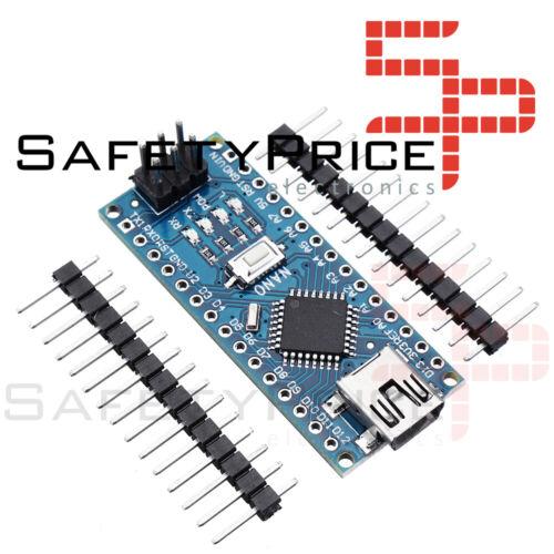 NANO V3.0 ATmega328P CH340G 16Mhz SIN SOLDAR 100/% Compatible Arduino