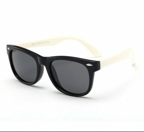 Kids Polarized Sunglasses Rectangular Boys Girls Sun Shades Children KFA373