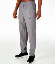 437c249bb8c11 Nike Mens Pants Drawstring Performance Basketball Dri Fit Heather Gray  Medium
