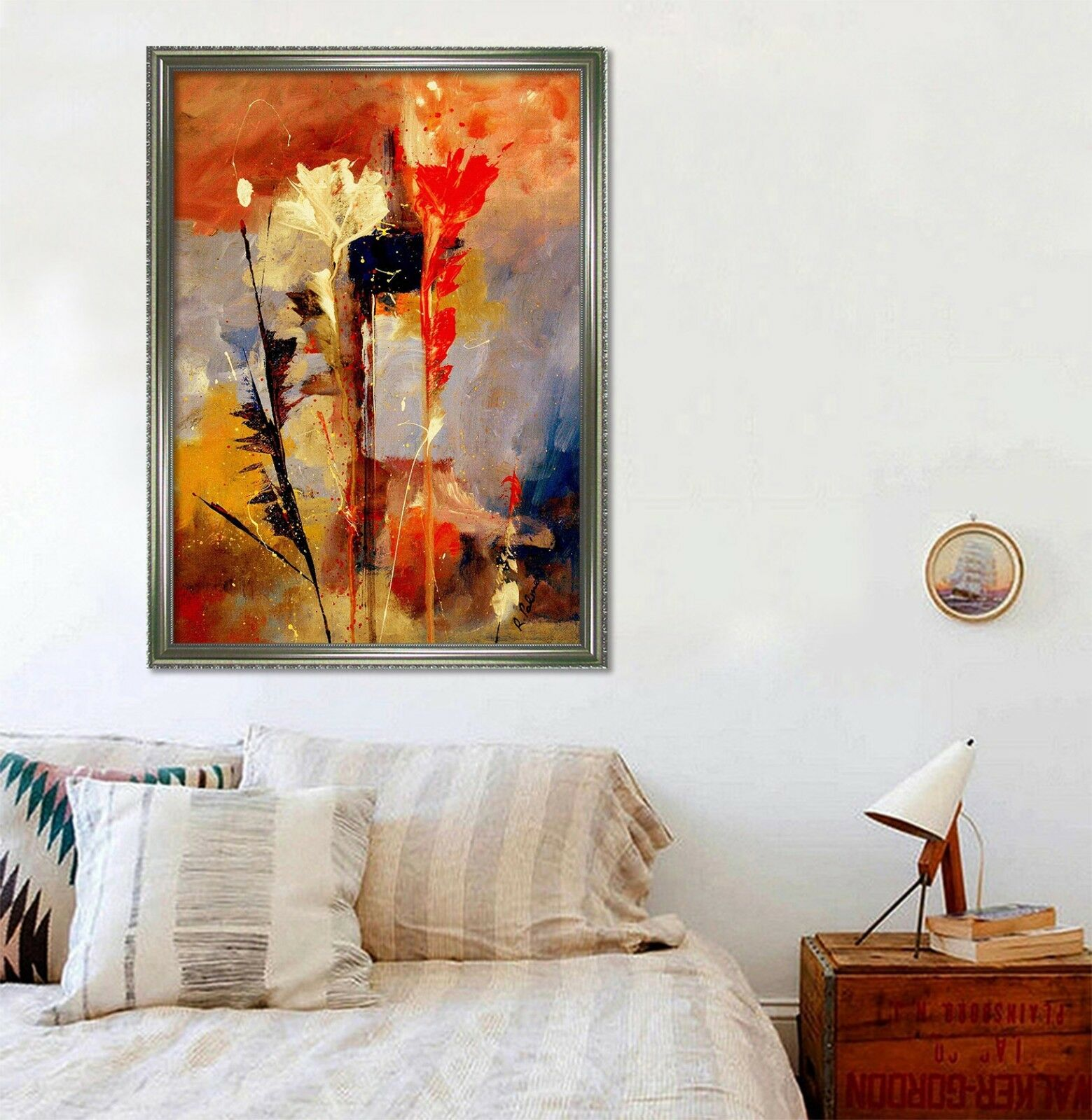 3D Painted Art 5663 Fake Framed Poster Home Decor Print Painting Unique Art