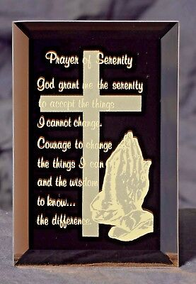 A Framed Prayer of Serenity Keepsake Plaque A Gift of Inspiration
