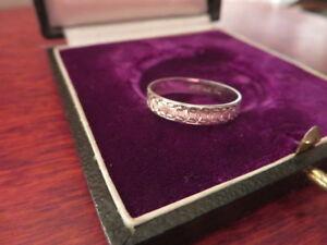 Schoener-925-Silber-Ring-Modern-Futuristisch-Muster-Ringe-Vintage-Klassiker-Top