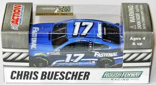 2020 RFR MUSTANG NASCAR #17 FASTENAL * 1:64 Lionel Chris Buescher