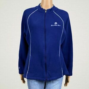 Grand-Wailea-Resort-Maui-Hawaii-Zip-Up-Jacket-XL-Deep-Blue-Waldorf-Astoria-Hotel