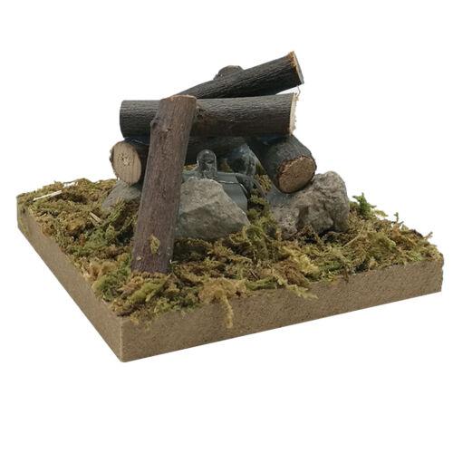 Details about  /1:12 Miniature Dollhouse Fairy Garden Bonfire Playset Mini Landscape Toy