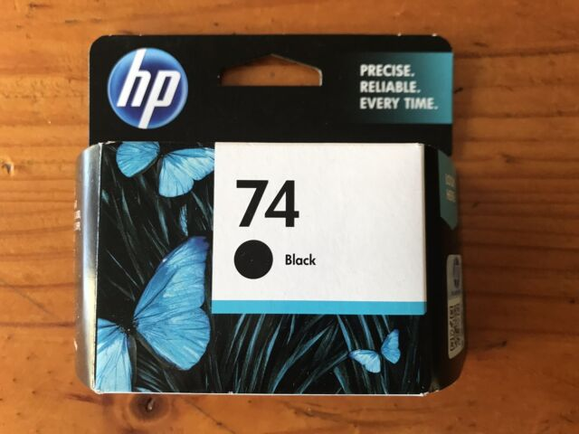 Genuine HP 74 BLACK Ink Cartridge Hewlett Packard