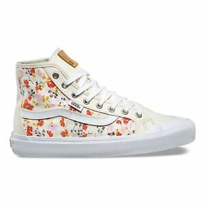 6670b690005ef2 VANS Black Ball Hi SF (Leila Hurst) 70 s Floral UltraCush High Top ...