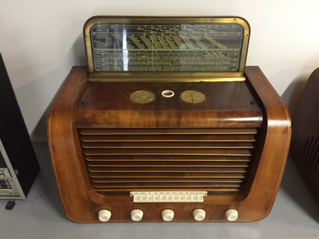 Rørradio, Bang & Olufsen, Grand Prix 508K, Årg. 1953, super…